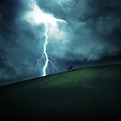 Rider in the Storm by Dominic Kamp