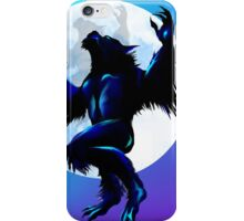 Werewolf On The Loose iPhone Case/Skin