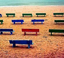 On The Beach by Richard Earl