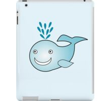Little Cute Whale iPad Case/Skin