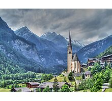 Heiligenblut (Holy Blood) Photographic Print