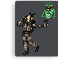 The Ghostbusters Fool Tarot Canvas Print
