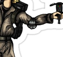 The Ghostbusters Fool Tarot Sticker