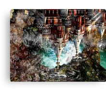 """House dripping in memory-paradox"" Canvas Print"