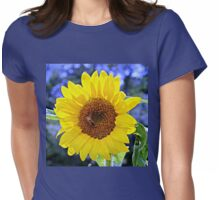 Sunflower Squared Womens Fitted T-Shirt