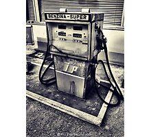 Gas pump Photographic Print