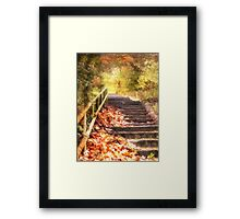 The Autumn Years Framed Print