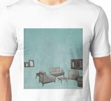 The living room is floating away Unisex T-Shirt