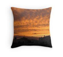 Spanish Sunset 2 Throw Pillow
