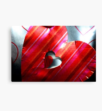 Hearts & Gifts... Canvas Print