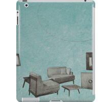 The living room is floating away iPad Case/Skin