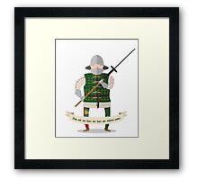 Medieval mercenary 3 Framed Print