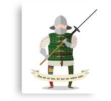 Medieval mercenary 3 Canvas Print