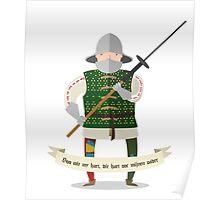 Medieval mercenary 3 Poster