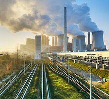 Power Station, Germany. by David A. L. Davies