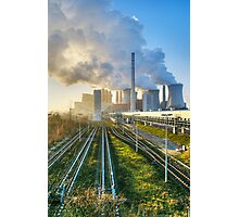 Power Station, Germany. Photographic Print