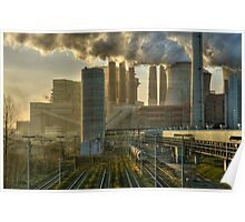 Power Station, Germany. Poster