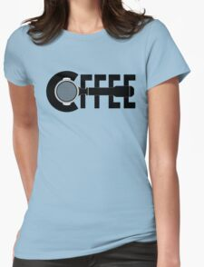 C(portafilter)ffee Womens Fitted T-Shirt