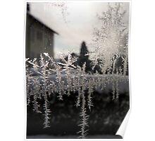 frozen window Poster