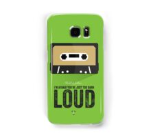 Cinema Obscura Series - Back to the future - The Pinheads Samsung Galaxy Case/Skin