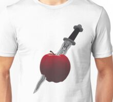 SwanQueen apple and dagger Unisex T-Shirt