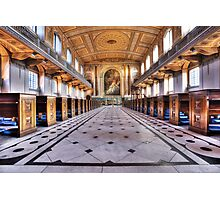 Greenwich Royal Naval College Chapel Photographic Print