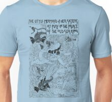 The Little Mermaid and Her Sisters at Play in the Palace of the Old Sea King Unisex T-Shirt