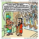 Moses Was First by Londons Times Cartoons by Rick  London