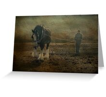 The Land Girl Greeting Card
