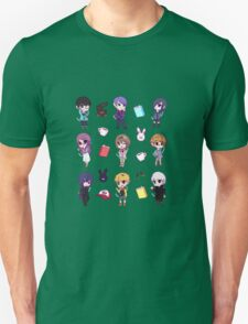 Tokyo Ghoul Chibi Characters  Unisex T-Shirt
