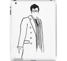 10th Doctor pen&ink iPad Case/Skin