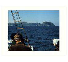 Islands in a Cold Sea Art Print