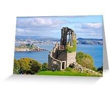 The Folly: Plymouth from Mount Edgcumbe Greeting Card