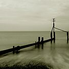 Weybourne Groyne by Norfolkimages