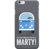 Cinema Obscura Series - Back to the future - libyans iPhone Case/Skin