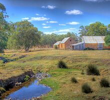The Farm - Mount Barker Springs, Adelaide Hills, SA by Mark Richards