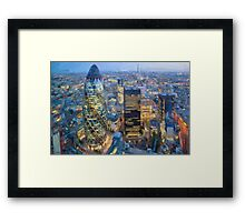 LONDON_View 100 Framed Print