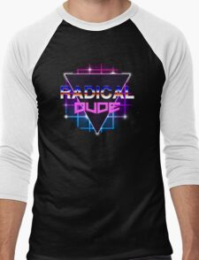 Radical Dude Men's Baseball ¾ T-Shirt