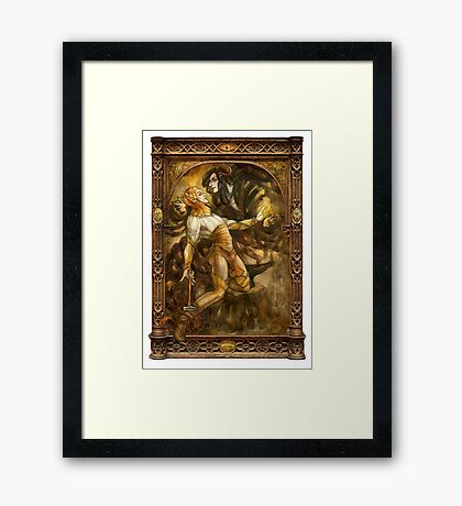 Seduction of Sauron Framed Print