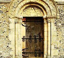 Barfreston South Door by Dave Godden