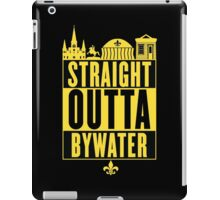 Straight Outta Bywater (Black and Gold) iPad Case/Skin
