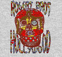 usa hollywood skull  tshirt  by rogers bros co Hoodie