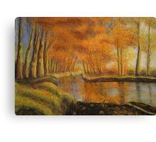 Braid River near Ballymena, Northern Ireland Canvas Print