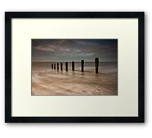 Allonby Beach Framed Print