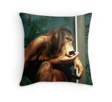 Uh Oh!!! Throw Pillow
