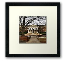 Rapport Building, University of Georgia Framed Print