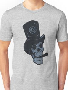 hat and skull usa by rogers bros T-Shirt