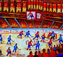 THE BELL CENTER by Carole  Spandau