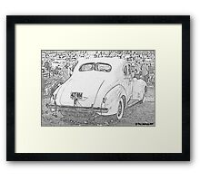 1940 Packard Coupe Framed Print