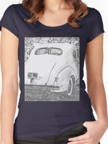 1940 Packard Coupe Women's Fitted Scoop T-Shirt